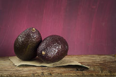 Ripe avocadoes Royalty Free Stock Photography