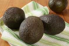 Ripe avocados Royalty Free Stock Photos