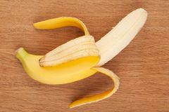 Ripe banana Royalty Free Stock Photo