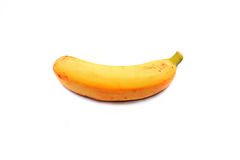 Ripe banana. S isolated on a white backgroud royalty free stock photography