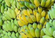 Ripe banana fruit background Stock Photography