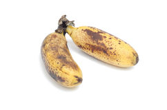 Ripe banana Stock Images