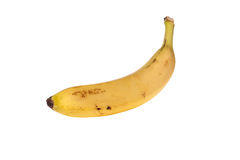 Ripe banana. On isolated background Royalty Free Stock Images