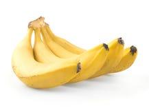 Ripe banana isolated. On white background Royalty Free Stock Photo