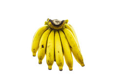 Ripe banana isolated on white background. Stock Photography