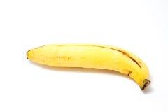 Ripe Banana. On white background Royalty Free Stock Photo