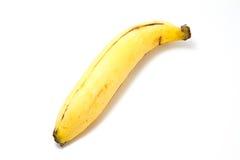 Ripe Banana. On white background Royalty Free Stock Photos