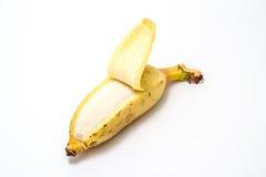 Ripe Banana. On white background Royalty Free Stock Image
