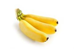 Ripe banana on white background. Beautiful Ripe banana on white background Royalty Free Stock Images