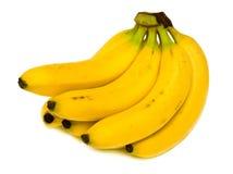 Ripe bananas. Bunch of ripe bananas. Isolation Royalty Free Stock Photo