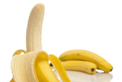 Ripe bananas Stock Photos