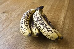 Ripe bananas Royalty Free Stock Photos