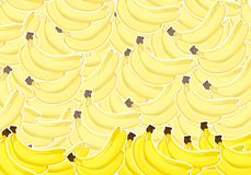 Ripe bananas Royalty Free Stock Photo
