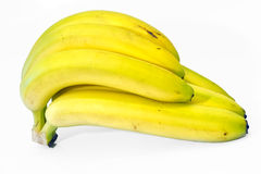 Ripe bananas royalty free stock photography