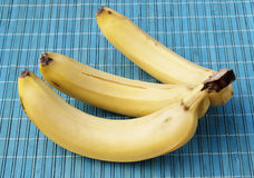 The ripe bananas Stock Photo