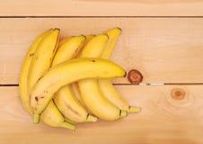 Ripe bananas Stock Images