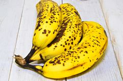 Ripe bananas Stock Images