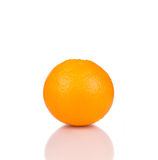 Ripe beautiful orange. Royalty Free Stock Photography