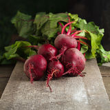 Ripe beet root Royalty Free Stock Photos
