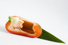 Ripe bell pepper Royalty Free Stock Images