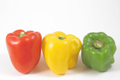 Ripe bell peppers Royalty Free Stock Photo