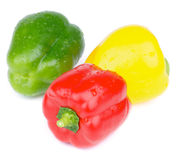 Ripe Bell Peppers Royalty Free Stock Images
