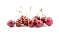 Ripe berries of a sweet cherry Royalty Free Stock Images