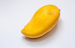 Ripe big yellow mango Stock Photography