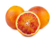 Ripe blood red orange Royalty Free Stock Photos