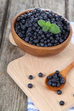 Ripe blueberries Stock Image
