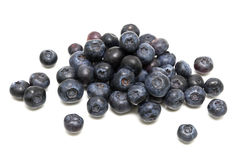 Ripe blueberries on white background. Stock Photography