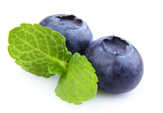 Ripe blueberry Royalty Free Stock Images