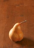 Ripe Bosc pear Royalty Free Stock Photography
