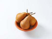Ripe Bosc pears Stock Images