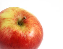 Ripe braeburn apple Stock Photo