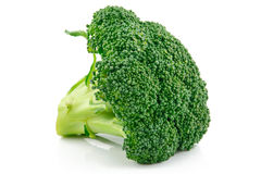 Ripe Broccoli Cabbage Isolated Royalty Free Stock Images