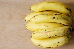 Ripe bunch banana Stock Image
