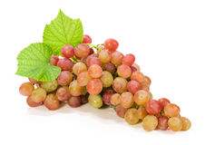 Ripe bunch of grapes stock photography