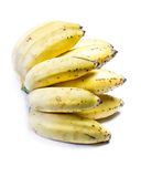 Ripe bunch of little bananas Royalty Free Stock Photography