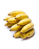 Ripe bunch of little bananas Royalty Free Stock Image