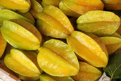 Ripe carambola Stock Photography