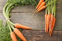 Ripe carrots Royalty Free Stock Image