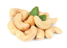 Ripe cashew nuts Royalty Free Stock Photo