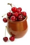 Ripe cherries Stock Photo