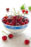 Ripe cherries Stock Photo