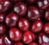 Ripe cherries close up Stock Photo
