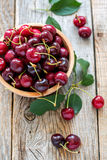 Ripe cherries. Royalty Free Stock Images