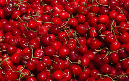 Ripe Cherries Royalty Free Stock Photography