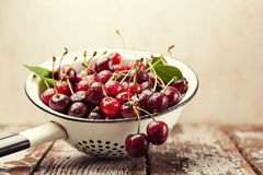 Ripe cherries Royalty Free Stock Images