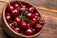 Ripe cherries Royalty Free Stock Photo
